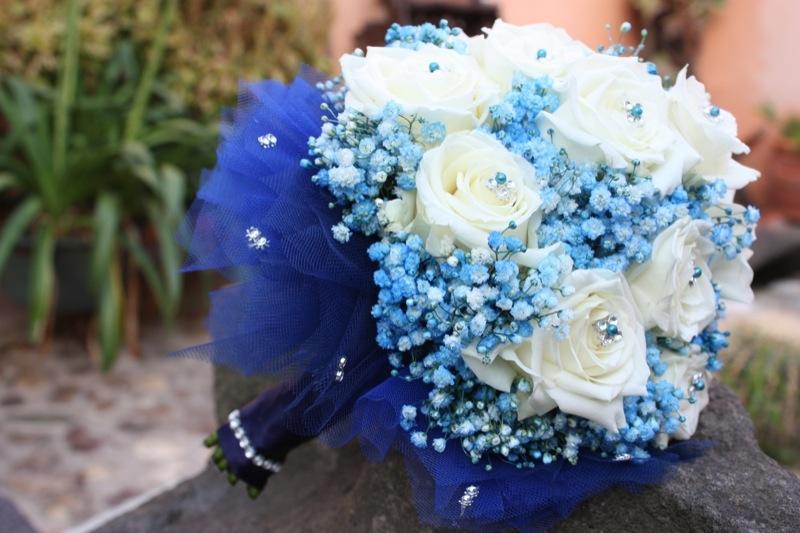 Matrimonio Tema Blu E Bianco : Wedding in bianco e blu mare